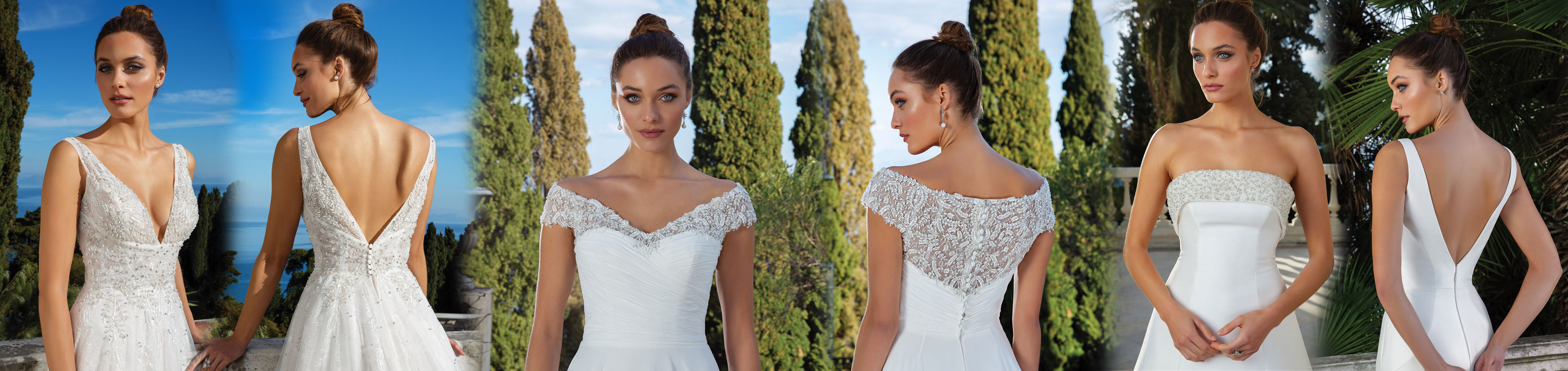 JUSTIN ALEXANDER Bridal gowns from Cheshire Brides Frodsham